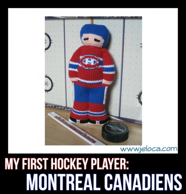 my first hockey player habs doll title
