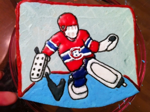 2014-01-10 hockey goalie cake plaque final