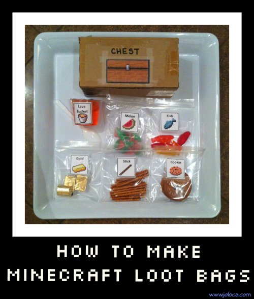 how to make a minecraft lootbag