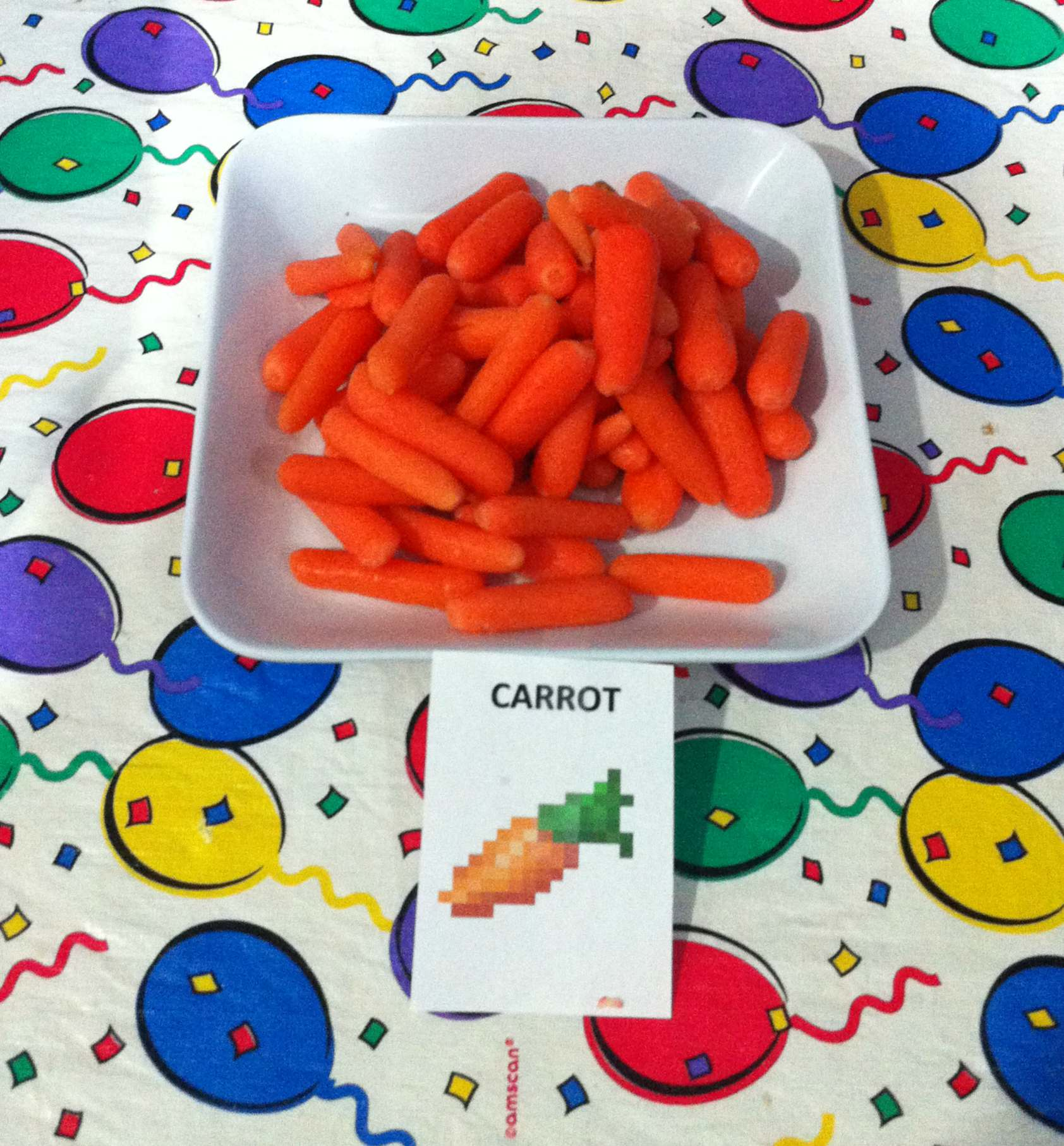 mc party dinner carrot