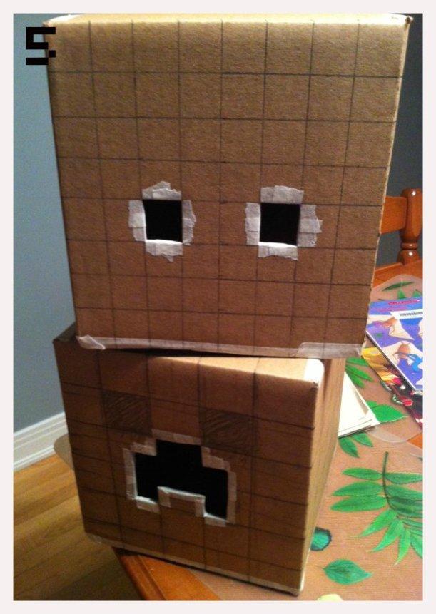 minecraft heads wip 02