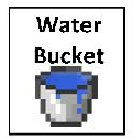 water bucket 2inby175in