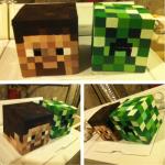 minecraft heads square