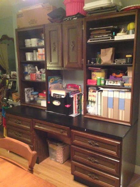desk after