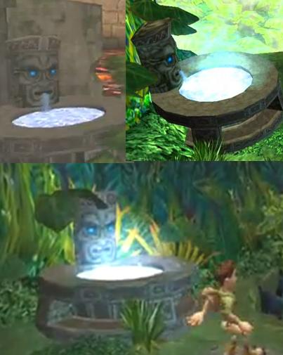 pitfall lost expedition fountain