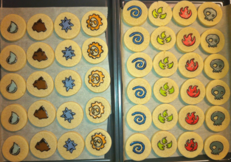 skylanders cookies and fondant topper 04