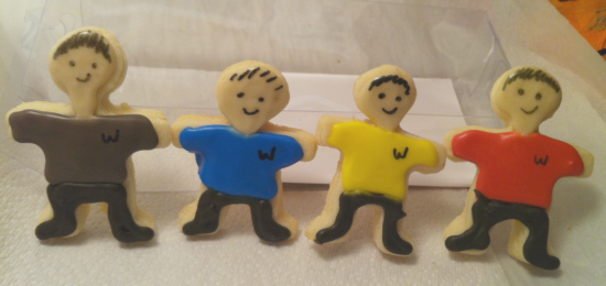 the wiggles cookies