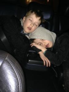boys asleep