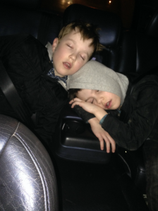 boys asleep