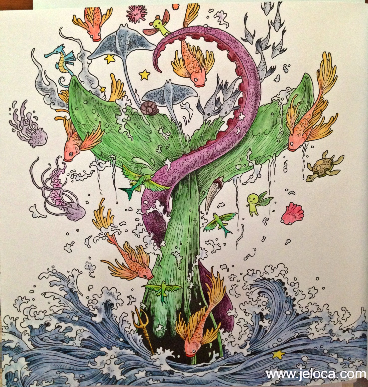 05_whale_imagimorphia_inktense_after_wet