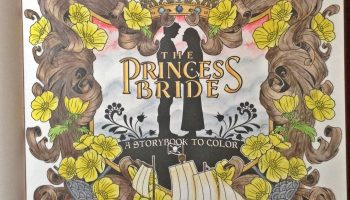 The Princess Bride Coloring Book this book belongs to page wip