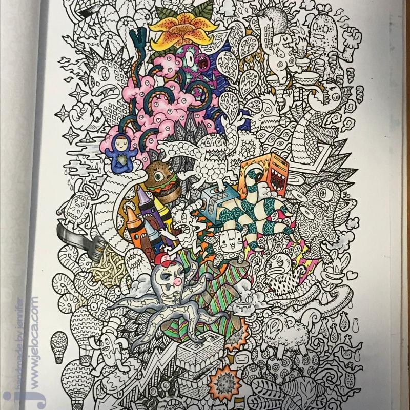 wip doodle fusion marco raffine