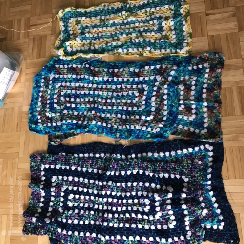 wip granny rectangle blanket