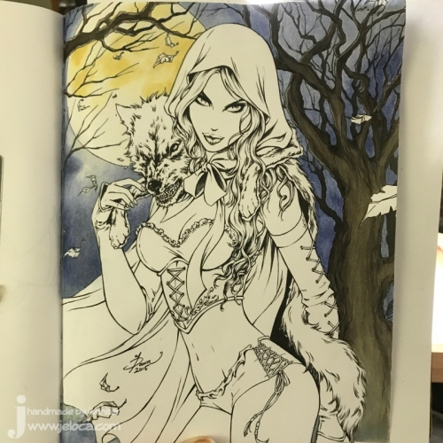 wip grimm little red riding hood